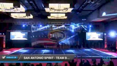 San Antonio Spirit - Team Black [2021 L3 Junior - D2 - B Day 3] 2021 ACP Southern National Championship