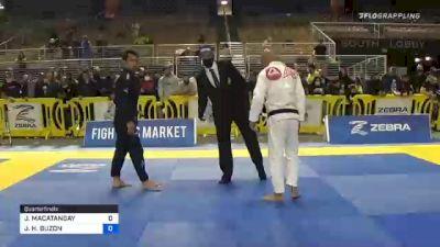 JASPER H. BUZON vs JEFF MACATANGAY 2020 World Master IBJJF Jiu-Jitsu Championship