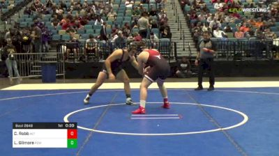 195 lbs 7th Place - Cash Robb, Altamont vs Laith Gilmore, Poway