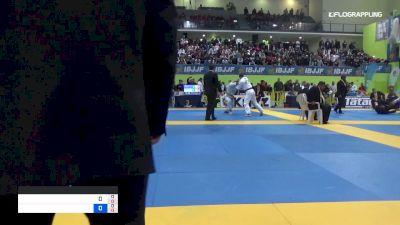 AMANDINE CATHY vs CHARLOTTE BAUMGARTEN 2019 European Jiu-Jitsu IBJJF Championship