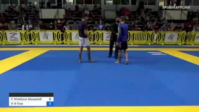 Farris Khaldoun Abuwandi vs Patrick R Tran 2021 Pan IBJJF Jiu-Jitsu No-Gi Championship