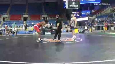 125 kg Semifinal - Demertius Thomas, Pittsburgh Wrestling Club vs Mauro Correnti, New York Athletic Club