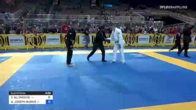 YAMIL ALI RASHID vs ALEXANDER JOSEPH BURNS 2021 Pan Kids Jiu-Jitsu IBJJF Championship