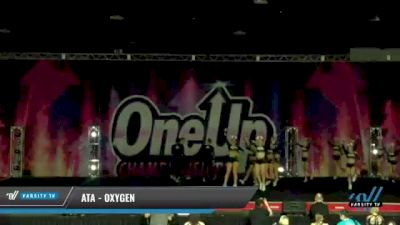 ATA - Oxygen [2021 L4.2 Senior Coed Day 1] 2021 One Up National Championship