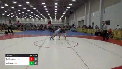 138 lbs Rr Rnd 2 - Chase Chapman, LTD Wrestling Club vs Jonathan Miers, Team Shutt Nation