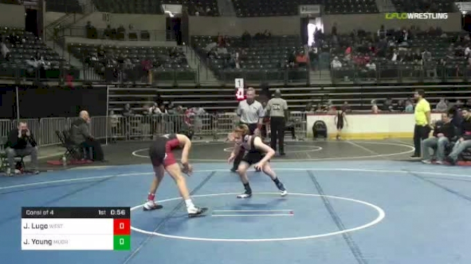 90 lbs Consi Of 4 - Jordan Lugo, West Essex vs Jackson Young, Moorestown