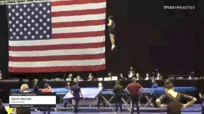 Aaron Remole - Individual Trampoline, Carolina Elite - 2021 USA Gymnastics Championships