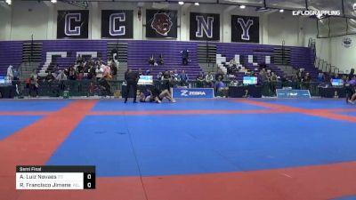 Andres Luiz Novaes vs Roberto Francisco Jimenez 2019 Pan IBJJF Jiu-Jitsu No-Gi Championship