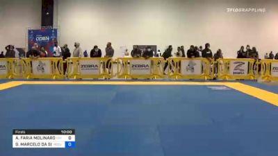 ALEXANDRE FARIA MOLINARO vs GIOVANNI MARCELO DA SILVA CARVAL 2020 Atlanta International Open IBJJF Jiu-Jitsu Championship