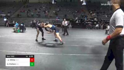 184 lbs 3rd Place - Jackson White, Northeastern Oklahoma vs Deron Pulliam, Indian Hills