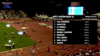 Boys' 4x400m Relay 5A , Finals 1