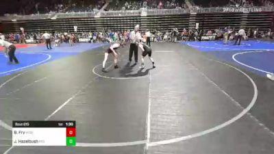116 lbs Semifinal - Brock Fry, Wcwc vs Jagen Hazelbush, Rco