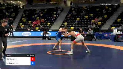 65 kg Consolation - Kanen Storr, Cliff Keen Wrestling Club-RTC vs Lawrence Saenz, TMWC / Valley RTC