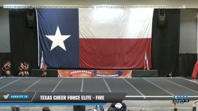 Texas Cheer Force Elite - FIRE [2021 L1 Youth - D2 - Small Day 2] 2021 ACP Power Dance Nationals & TX State Championship