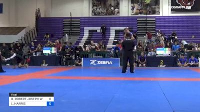 DONALD ROBERT JOSEPH WESTMAN vs LUKE HARRIS 2019 Pan IBJJF Jiu-Jitsu No-Gi Championship