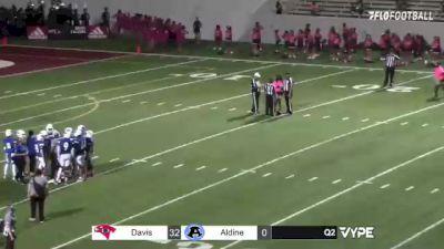 Replay: Benjamin Davis vs Aldine | Oct 8 @ 7 PM