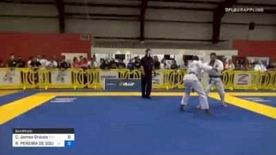 Cameron James Graves vs RONALDO PEREIRA DE SOUZA JÚNIOR 2020 Houston International Open IBJJF Jiu-Jitsu Championship