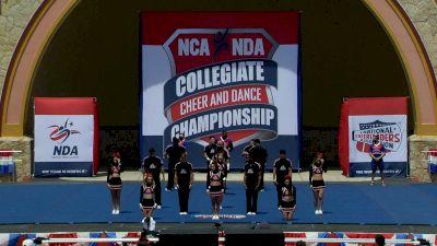 New Mexico State University [2021 Advanced Large Coed IA Finals] 2021 NCA & NDA Collegiate Cheer & Dance Championship