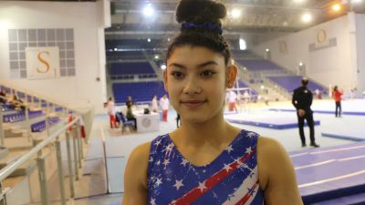 Interview - Kayla DiCello (USA) - Training Day 3, 2019 City of Jesolo Trophy