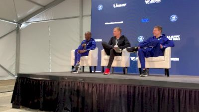 Rupp, Riley And Abdi Discuss Their Trials Shoes