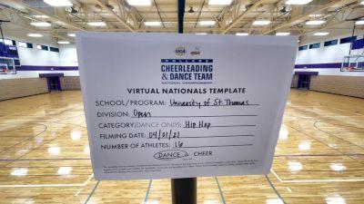 University of Saint Thomas [Virtual Open Hip Hop Semi Finals] 2021 UCA & UDA College Cheerleading & Dance Team National Championship