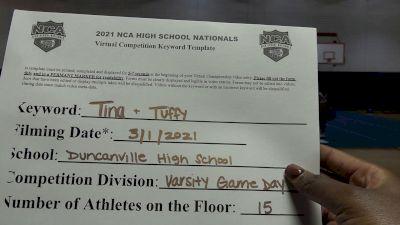 Duncanville High School [Game Day Varsity ] 2021 NCA High School Nationals