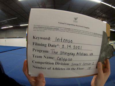 The Stingray Allstars - Calypso [L2 Senior - Small] 2021 Coastal at the Capitol Virtual National Championship