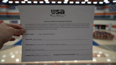 Skyridge High School [Crowdleader Finals] 2021 USA Spirit & Dance Virtual National Championships