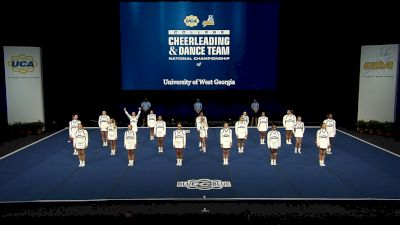 University of West Georgia [2021 All Girl Division I Finals] 2021 UCA & UDA College Cheerleading & Dance Team National Championship