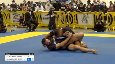 Clip: Kaynan Submits Tex Johnson With A Slick Triangle From The Back