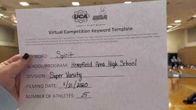 Hempfield Area High School [Super Varsity] 2020 UCA Allegheny Virtual Regional