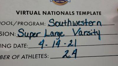Southwestern High School [Virtual Super Varsity Finals] 2021 UCA National High School Cheerleading Championship