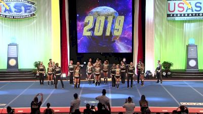 Top Gun All Stars - OO5 [2019 L5 International Open Large Coed Finals] 2019 The Cheerleading Worlds