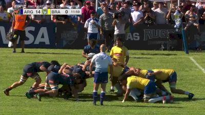 Argentina XV Struggles In The Scrum