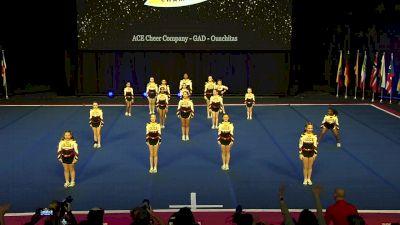 ACE Cheer Company - GAD - Ouachitas [2020 L2 Junior - Small] 2020 UCA International All Star Championship