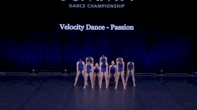 Velocity Dance - Passion [2021 Junior Contemporary / Lyrical - Small Semis] 2021 The Dance Summit
