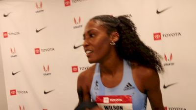 Ajee' Wilson Safely On To 800m Final