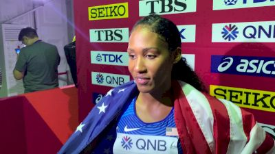 Ajee' Wilson Upset By Nakaayi And Rogers In 800m