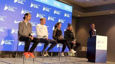Chicago Marathon Top American Press Conference