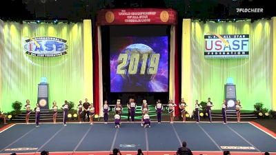 A Look Back At The Cheerleading Worlds 2019 - Senior Open Large Coed Medalists