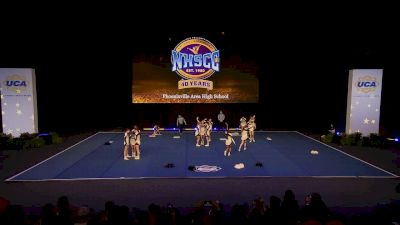 Phoenixville Area High School [2020 Small Coed Non Tumbling Semis] 2020 UCA National High School Cheerleading Championship