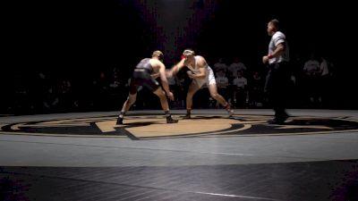 197 lbs - Jake Jakobsen (Lehigh) vs Alex Hopkins (Army)