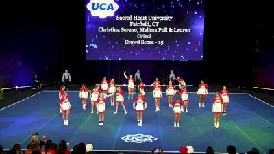 Sacred Heart University [2020 All Girl Division I Semis] 2020 UCA & UDA College Nationals