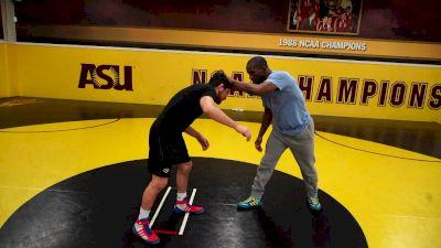 Jamill Kelly: Foot Block Throw By
