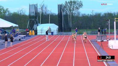 Women's 800m Unseeded, Heat 1