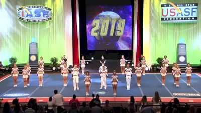 Flyers All Starz - Lightning (Canada) [2019 L6 International Open Small Coed Finals] 2019 The Cheerleading Worlds