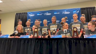 Final Press Conference - 2019 NCAA Championships