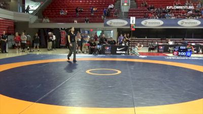 57 lbs Rr Rnd 1 - Arian Carpio, Sunkist Kids Wrestling Club vs Jenna Burkert, Army (WCAP)