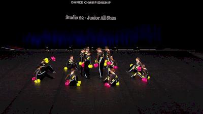 Studio 22 - Junior All Stars [2021 Junior Pom Semis] 2021 The Dance Summit