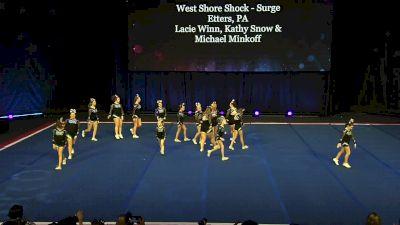 West Shore Shock - Surge [2020 L3.1 Performance Rec - Non-Affiliated (18Y)] 2020 The Quest